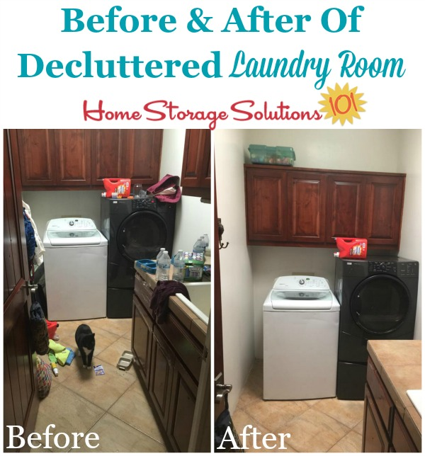 Life Hacks How To Declutter For A Better Life: How To Declutter Your Laundry Room