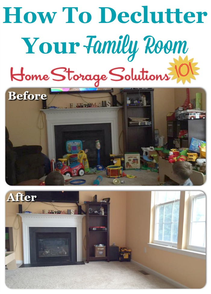 How To Declutter Your Family Room, Including Lots Of Before And After  Photos From Readers ... Part 36