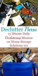 Declutter Your Purse