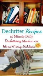 Declutter Recipes