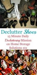 Declutter Shoes
