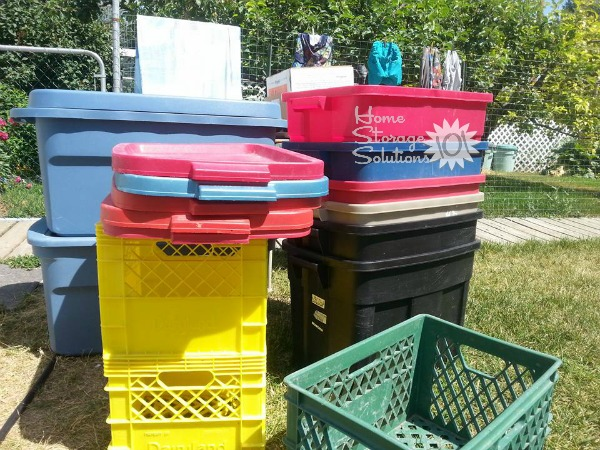 Empty Storage Bins And Containers Are Evidence Of Your Progress When It  Comes To Decluttering Your