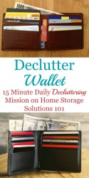 Declutter Your Wallet