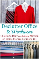 How To Declutter Your Wardrobe Of Workwear