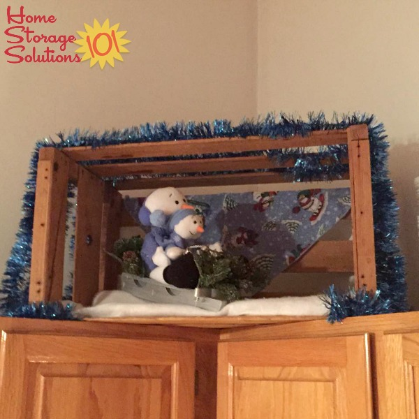 Change Out Your Decorations Above Our Kitchen Cabinets Seasonally If You Wish To Change The