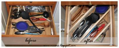 Kitchen Utensil Organizer Drawer Kitchen utensil storage organization ideas diagonal drawer dividers for large utensils workwithnaturefo