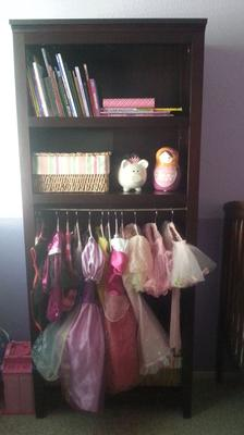 Kids Dress Up Clothes Storage & Organization Ideas