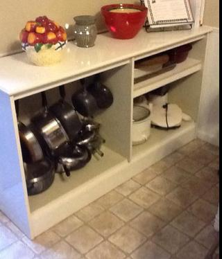 organizing pots and pans ideas & solutions