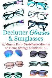 How To Declutter & Donate Glasses