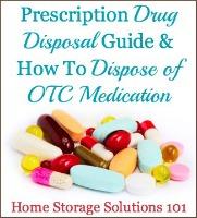 Drug Disposal