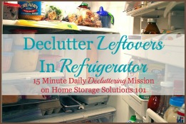How To Eat Leftovers