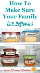 Eat Leftovers