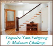 Mudroom and Entryway Organization