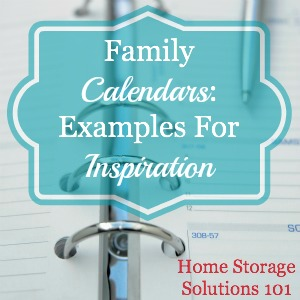 family calendars and organizers that actually work for families