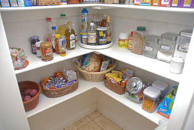 Simple pantry storage solutions