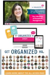 Get Organized HQ 2021