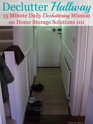 How To Get Rid Of Hallway Clutter