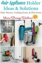 Declutter Hair Styling Tools And Supplies