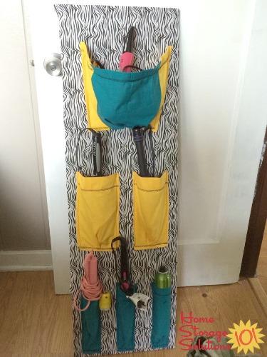 DIY hair appliance holder and organizer