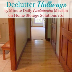 Get Rid Of Hallway Clutter