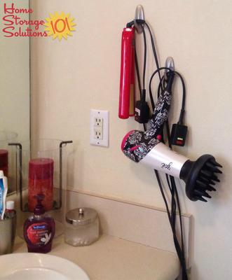 command hooks uses. hang your hair styling tools using command hooks uses