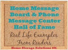 home message board and phone message center hall of fame