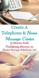 Home Message Center