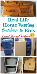 Home Recycling Containers