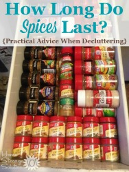 Declutter Spices