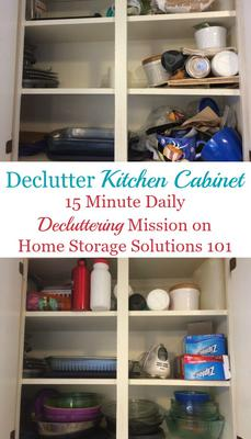 High Quality How To Declutter Your Kitchen Cabinets