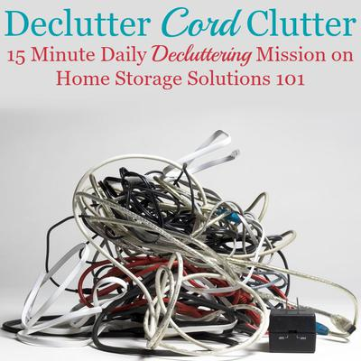 How To Get Rid Of Charger, Cable U0026 Cord Clutter