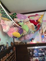 As you can see from the second picture Nicole uses a stuffed animal hammock for many of her childrenu0027s stuffed toys. & Storage For Stuffed Animals: Ideas That Work