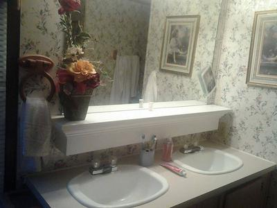 Bathroom Sinks And Counters how to declutter your bathroom sink & counter {& make it a daily