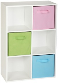 closetmaid 6 cube stackable organizer