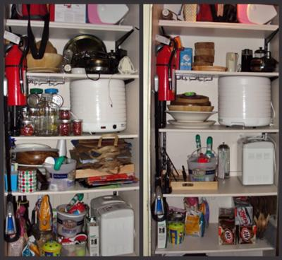 Organize Kitchen Cabinets Hall Of Fame Before Amp After