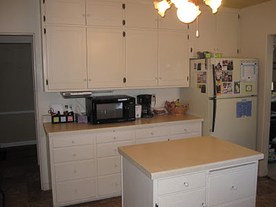 Clear kitchen counters - second view