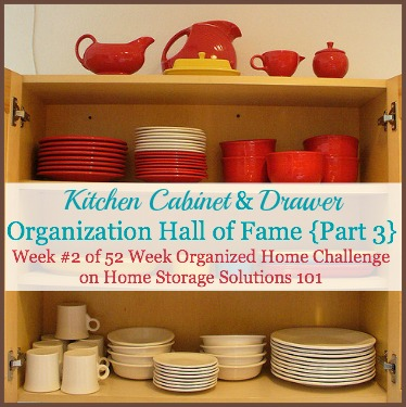Kitchen Drawer And Cabinet Organization Hall Of Fame {Part 3}: Before And  After Pictures