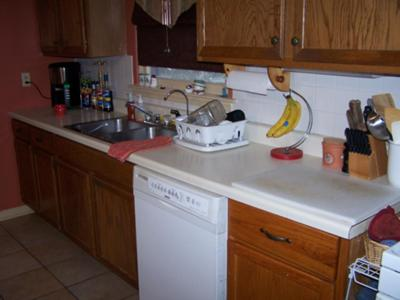 Kitchen Organizing Challenge Before And After Pics For