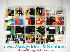 Lego Storage Ideas & Solutions