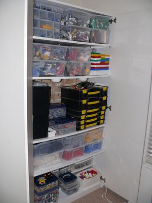 Whole closet view