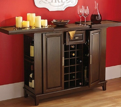 Liquor storage ideas solutions Home bar furniture amazon