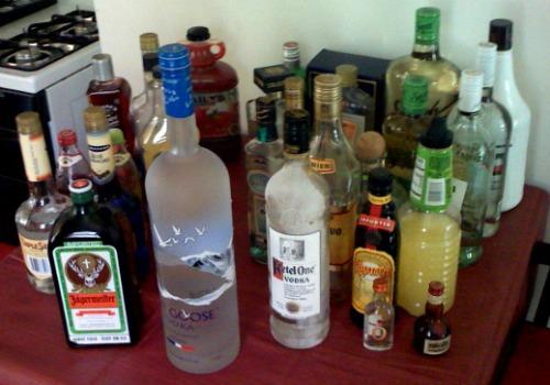 you don't need to refrigerator hard liquor