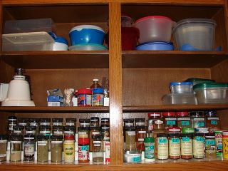 Lisau0027s Organized Spices And Tupperware & Organizing u0026 Storing Spices: Ideas u0026 Solutions For Your Kitchen