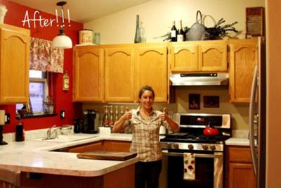 Thumbs up for an organized kitchen