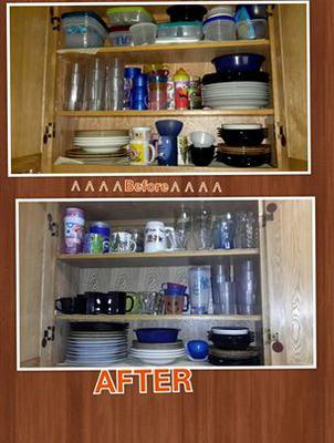 organize kitchen cabinets and drawers organize kitchen cabinets of fame before amp after 7216