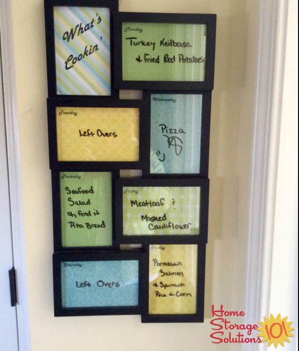 Menu Board Ideas So Your Family Knows Whats For Dinner