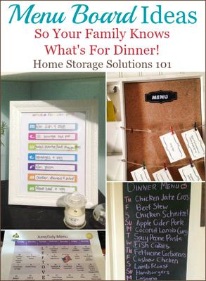 Menu Board Ideas So Your Family Knows What\'s For Dinner