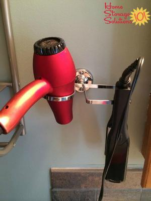 More Wall Mounted Hair Dryer Curling Iron Flat Holder Products