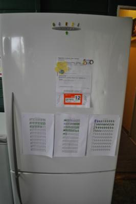 Front of my fridge