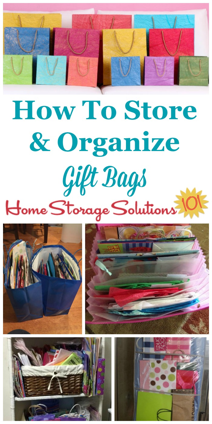 Gift Bag Storage Ideas
